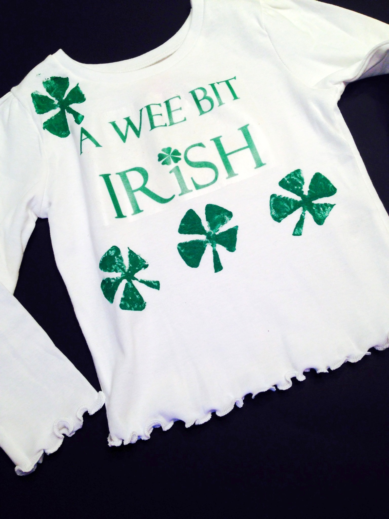 Diy St Patricks Day T Shirt Styled By Jess
