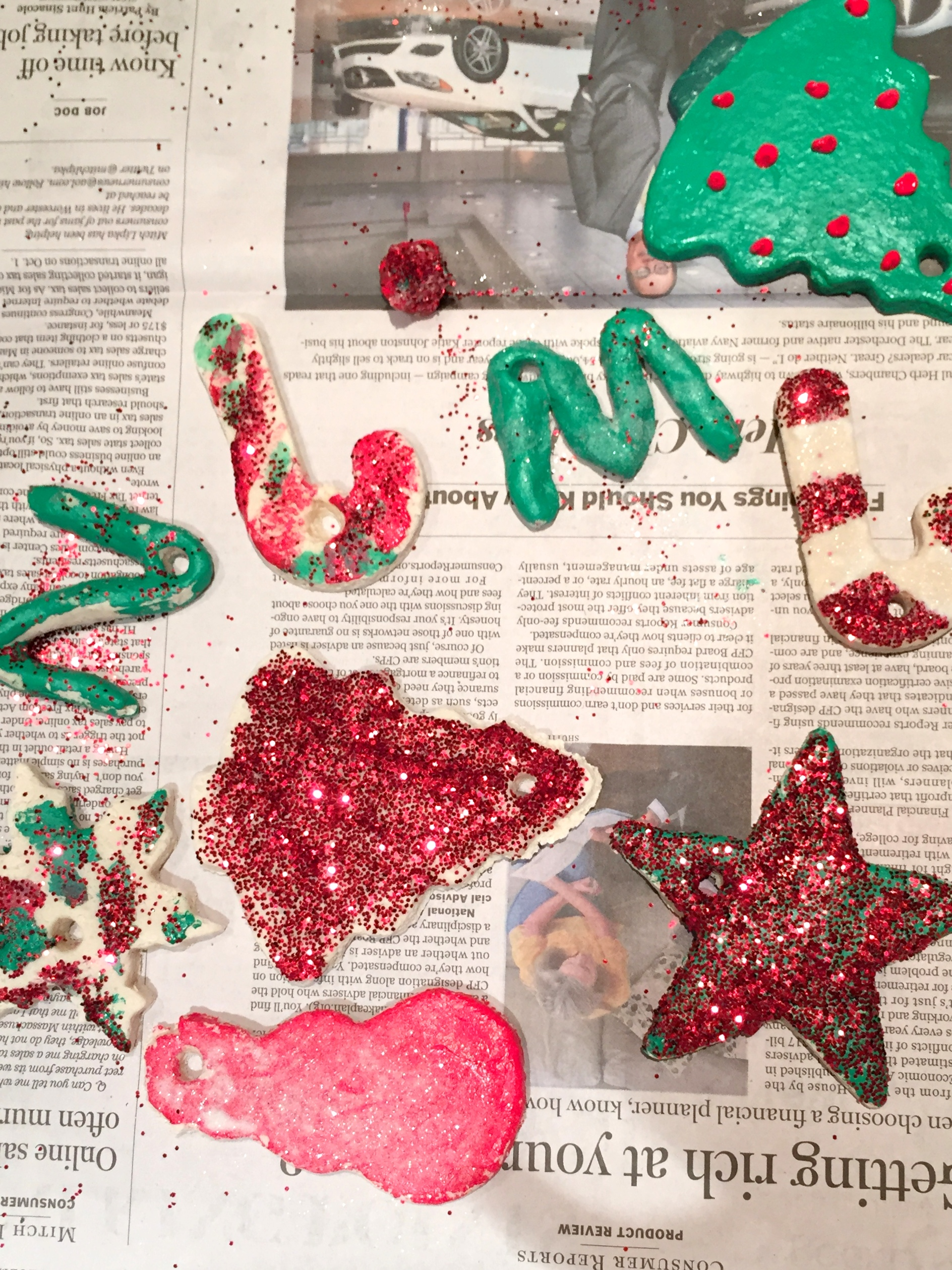 Crafts styled by jess salt dough ornaments 4 solutioingenieria Choice Image